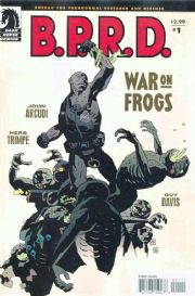 B.P.R.D. War On Frogs #1 One Shot Mike Mignola BPRD Dark Horse Comics